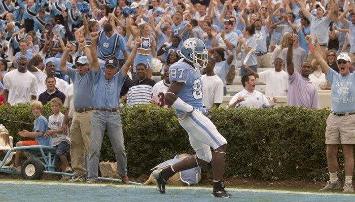 UNC Star Wide Receiver Brandon Tate